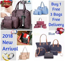 New Design Arrival First 10pcs Buy 1 Get 3 Free $39.90 Only Geninue Cowhide Leather  Handbag