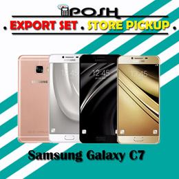 [SAMSUNG MOBILE] [CHEAPEST] Samsung Galaxy C7 32GB/64GB [BRAND NEW SET] EXPORT SET