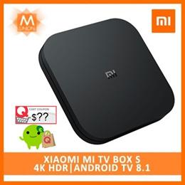 [Global Version] Xiaomi Mi TV Box S |4K HDR |Android TV 8.1| Ultra HD Google Cast Netflix IPTV