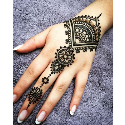 06110595d authentic Black brown red white Henna Cones Indian Henna Tattoo Paste For Temporary  Tattoo body art