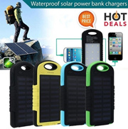 10000mAh Portable Waterproof Solar Charger Dual USB External Battery Power Bank Outstanding