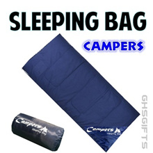 CAMPERS Sleeping Bag - Camping / Outdoor - Easy Keep - Thick and Comfortable