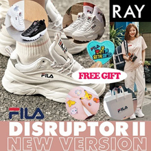 [FILA] [Buy Get Free Gift]★100% Authentic★FILA RAY Shoes / Sneakers /DISRUPTOR