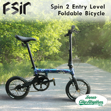 FSIR Spin 2 Entry Level Foldable Bicycle [Ultra Light Full Aluminium]