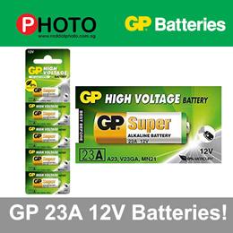 GP 12V 23A Alkaline Batteries 1Pcs / 3Pcs / 5Pcs for remote control