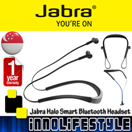 ★Free Shipping★ Jabra Halo Smart Wireless Bluetooth Stereo Headphones ★2 Years Local Warranty★