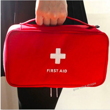 [SG] Large Empty First Aid Kit Bag (Many Compartments) for Travel Camping Hiking Road Trip