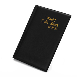 25007c14735 120 coins collection holders storage bag money penny pocket album book  folder case album coins po