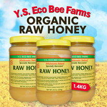 ORGANIC RAW HONEY GRADE A  623g/1.4Kg. *NEXT DAY DELIVERY* MONTHS CONSUMPTION! Qoo10 Support Pricing