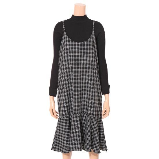 ・ねループカムチクイワンピースDH8WOP24 面ワンピース/ 韓国ファッション