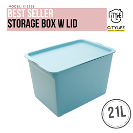 WOW DEAL - Bundle of 3 - Storage Box with Lid - 21L