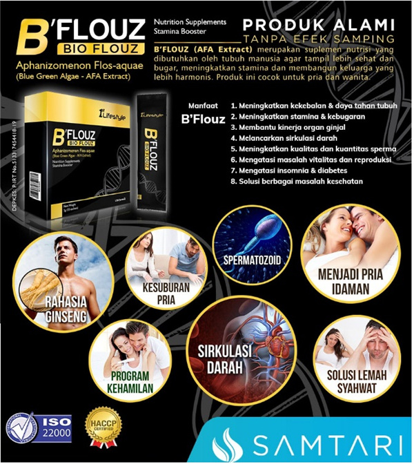BFLOUZ STAMINA AND IMMUNITY BOOSTER Deals for only Rp450.000 instead of Rp692.308