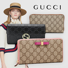 【Industry's lowest price class / free shipping】 【GUCCI / Gucci】 Challenging all 12 types of Qoo10 lowest price !! Wholesale direct price long wallet feature free shipping free genuine