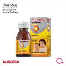 [RB Health]【NEW!】Nurofen® Children Liquid 60ML【Suitable for 6 Months and above! - For Fever and Pain