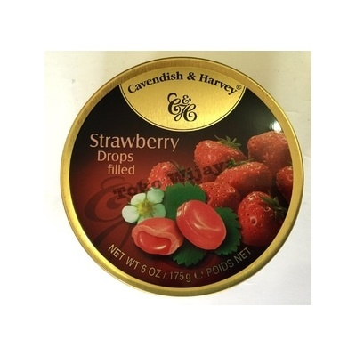 Permen Cavendish Harvey Strawberry Drops