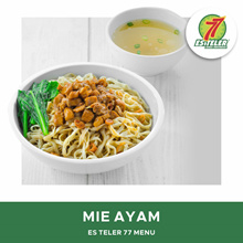 [FAST FOOD] Es Teler 77 Mie Ayam