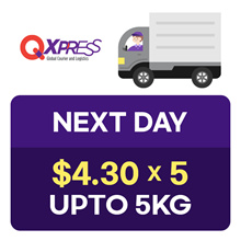 Qdelivery Service Voucher [Value S$ 4.3 / Up to 5.0 kg]  Only for Local Delivery (Singapore)