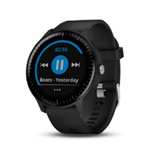 Garmin vivoactive 3 Music (Black with Stainless Hardware) - 1 Year Warranty