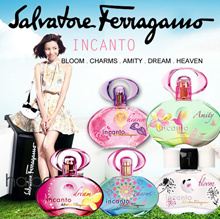 Salvatore Ferra gamo Perfume INCANTO Amity Charm / EMOZIONE / SHINE Tester Packaging