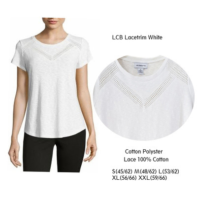 LCB Lacetrim White