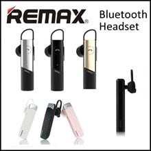 ★100% Authentic REMAX ★ Bluetooth Headset ★ Wireless Earpiece / Earphone★ T9 / T13/T18/T20/T17★ 4.1