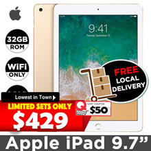 [2018 Version] Brand NEW Apple iPad 9.7inch 2018 // 32GB ROM // iOS 11
