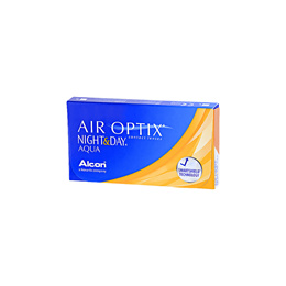 Alcon Air Optix Night and Day Aqua BC 8.60mm (3pcs/box)  PWR -1.00 ~ -4.50