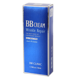 3W Clinic Wrinkle Repair BB Creams Korean Beauty Makeup Base Cosmetics