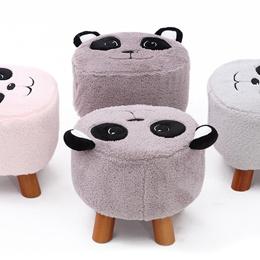 ★Cute Colorful Panda ★Ottoman★Cube Stool★Organizer★ toy kids★ bench stool
