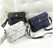 Korea Fashion Kitty Print Box Bag 24cm*16cm*10cm