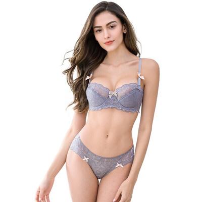 87fd6f4e5251 Qoo10 - Sexy Transparent Bra Set Women Underwear Plus Size Bra ...