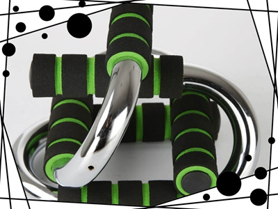 Push-up Bars - Strong Chrome Steel Stands Pushup Training Program for Men  or Women with Comfortable