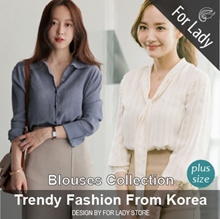 ♥ 14th Aug Update New Arrivals ♥ Casual Tops / Shirts / Blouses / Plus Size /  Secretary Kim