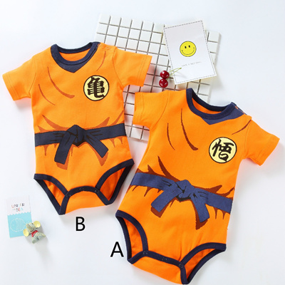 ec89a3087416 Qoo10 - Fashion Babt Dragon Ball Goku Baby Costume Newborn Infant ...