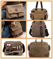 Stylish Canvas Bag/Messenger Bag/Sling Bag/Shoulder Bag/Travel Bag