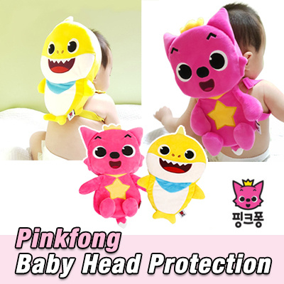 b30e3753fcf ☆ Pinkfong  Baby Head Protection☆ Protective Cushion   Baby Safety Helmet  kids