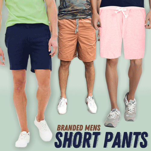 New Collection..!!! Branded Mens Short Pants /2 Style / Good Quality Deals for only Rp39.000 instead of Rp69.643