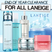★LANEIGE★Clearance Sale for All Skin Care LANEIGE!