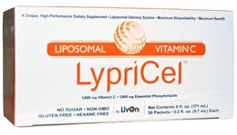 [Qprime]LypriCel Liposomal Vitamin C 30 Packets 0.2 fl oz (5.7 ml)