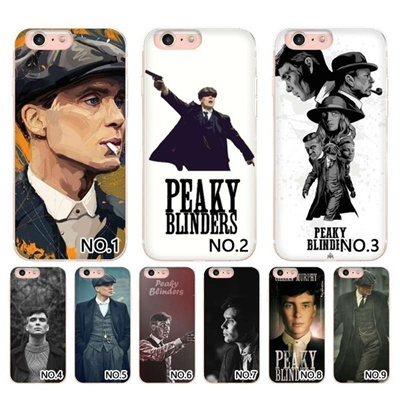 Your Own Design Peaky Blinders Wallpaper Transparent Shell For Iphone4 4s5 5s6 6s6 6s Plus7 7pl