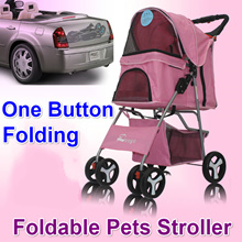 Foldable/ Washable Pet Dog Cat Stroller/Carrier /Trolley/Cart