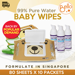 3 x 60 Water Wipes Baby Wipes Chemical Free 180 Wipes Exp. 07//2019