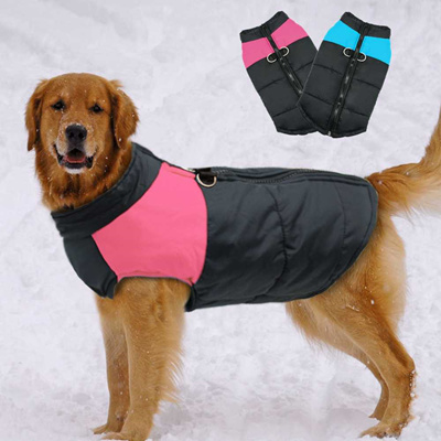 online Large Dog Clothes For French Bulldog Winter Pet Clothes Coat Ropa  Perro Golden Retriever Labr