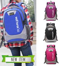 Korean leisure backpack large capacity bag man bag female high school students bag
