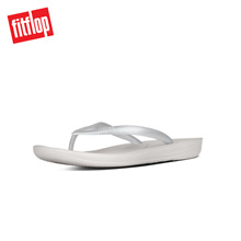 FITFLOP IQUSHION ERGONOMIC FLIP-FLOPS SILVER ★100% Authentic★