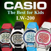 4cef4e5a313 Qoo10 - Casio Digital Watch A159WAD LA-670WAD Battery Dress natural ...