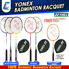 YONEX BADMINTON RACKET MUSCLE POWER 2 SR / B-4000/ ARC SABER/ NANORAY RACQUET
