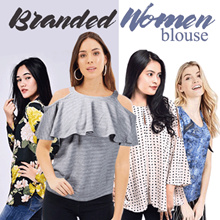 [ Clearence Sale ] Women Blouse | Many Color and Model Available  - Good Quality