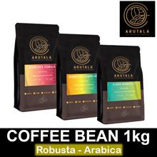 Coffee Bean Robusta Arabica 1kg (2x500gr) Made in Indonesia