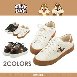 Gracegift-Disney Chip n Dale Mismatch Sneakers/Women/Ladies/Girls Shoes/Taiw